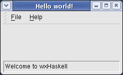 Hello world on Red Hat Linux (Fedora)